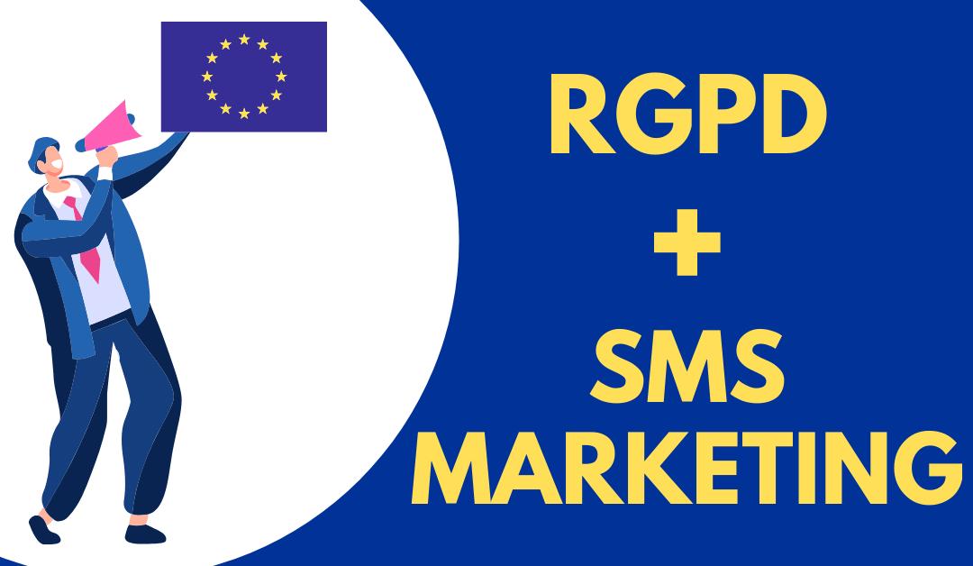 RGPD sms marketing