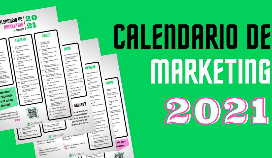 Calendario de Marketing España 2021