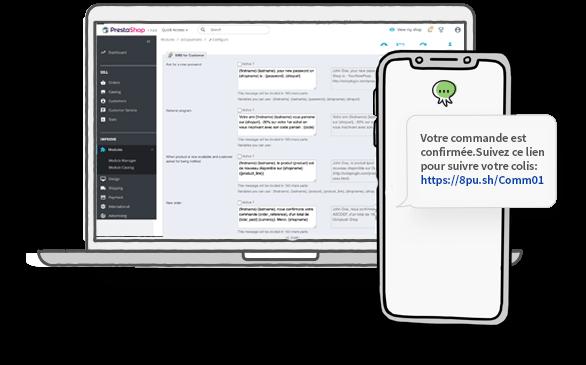 Plugin Prestashop : Envoyer des SMS aux utilisateurs
