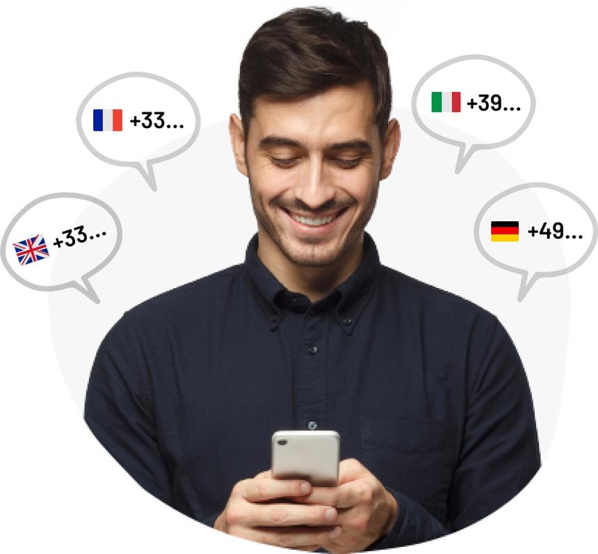 Dedicated Virtual Phone Number Rental - Octopush