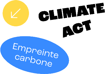 climate act logo carbon footprint reduction