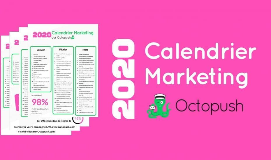 banner calendrier marketing octopush sms