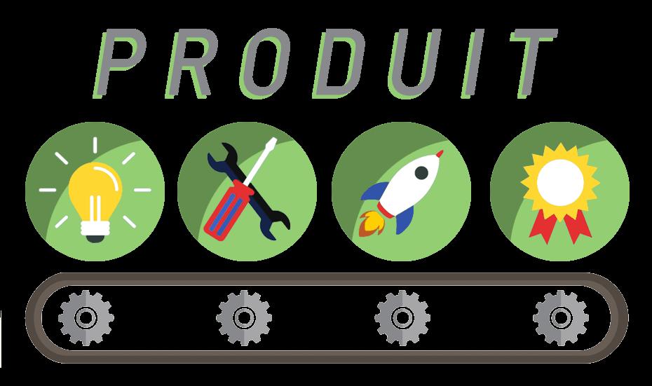 lancement de produit idee ilustrative